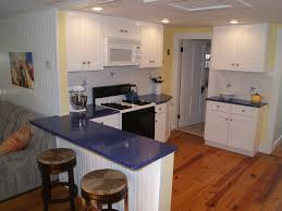 Yellow Kitchen Paint by Kitchen Lovely L Shape White Kitchen Design Using Blue Quartz