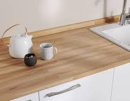 cuisine plan travail bois plan de travail en bois choix et entretien côté maison