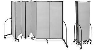 portable room dividers in stock uline ca