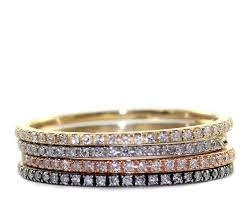 stackable diamond rings micropave diamond ring stacking ring engagement diamond