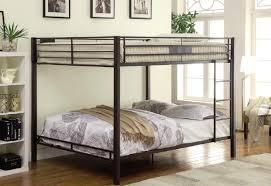 Focus Queen Over Queen Bunk Bed - Queen bed with bunk over