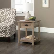 oak end tables and coffee tables amazon com sauder county line end table in salt oak kitchen u0026 dining