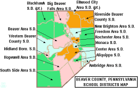 map of be file map of beaver county pennsylvania school districts png