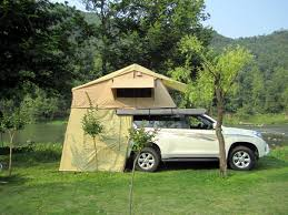Retractable 4wd Awnings China Yellow Oxford Cloth Car Roof Top Tent 4wd Awning House