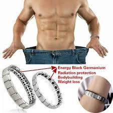 germanium power bracelet images Couple germanium titanium steel elastic bracelet stretch bracelet jpg
