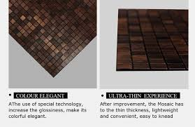 royllent acp mosaic peel and stick parquet interior wall panel