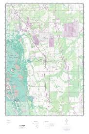 Map Of Estero Florida by Mytopo Estero Florida Usgs Quad Topo Map