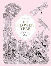 flower colouring book leila duly