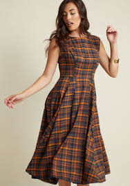 just my typist long sleeve shirt dress in primary modcloth