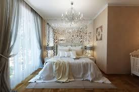 bedroom luxury white flower bedroom art on glass wall design