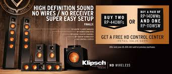 klipsch reference home theater system klipsch reference premiere hd wireless speaker special offers