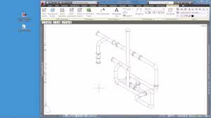 si e pcf iso2plant idf und pcf import in autocad plant 3d isometric view