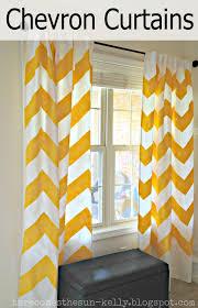 Chevron Design Curtains Yellow Chevron Curtains Here Comes The Sun
