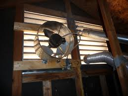 installing a gable vent fan 56 attic fans installation save money with a whole house attic fan
