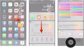 how to rearrange your apps in ios 11 on iphone and ipad imore