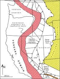 Bisbee Arizona Map by Geotectonic Evolution Of The Great Basin Geosphere Geoscienceworld