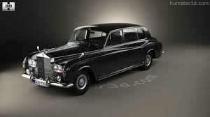 limousine rolls royce 360 view of rolls royce phantom park ward limousine 1963 3d model