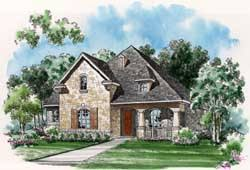 house plans with zero lot line