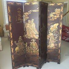 Antique Room Divider by Antique Chinese Screen Ebay