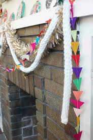 felt triangle garland diy u0027s and crafts pinterest garlands