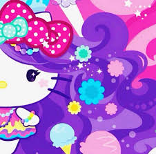 wallpaper hello kitty violet hello kitty background design violet 3 background check all
