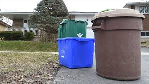 kitchener garbage collection most waterloo region residents on board with new garbage collection