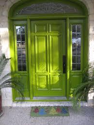 exterior minimalist red front door design
