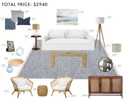 Living Room Designs by Budget Room Design East Coast Casual Living Room Emily Henderson