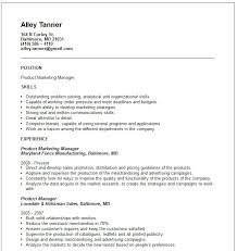 Sales And Marketing Manager Resume Examples by Product Marketing Manager Resume Example Essaymafia Com