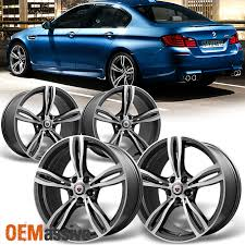 bmw staggered wheels and tires bmw staggered concave 19x8 5 19x9 5 front rear m5 style gunmatel