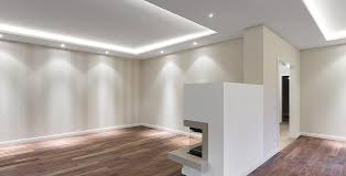 beleuchtung wohnzimmer voutenbeleuchtung licht statt leuchten