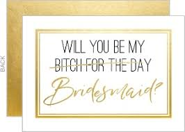be my bridesmaid cards will you be my bridesmaid or groomsman cards more