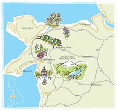 where is wales on the map parks in wales cing in wales at