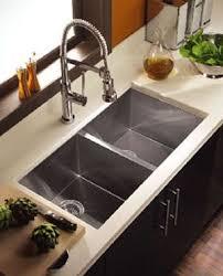 square kitchen sink zero radius sink from houzer the contempo sink series sinks