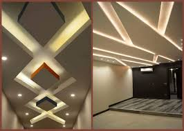 the best false ceiling design ideas with led lighting shine