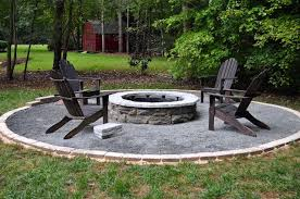 Building A Firepit Diy Firepit Kit 500 Home Depot Things For The Garden