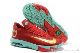 kd 6 christmas online cheap christmas nike kevin durant kd 6 shoes mens
