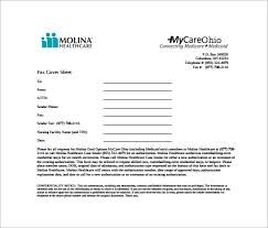 sample blank fax cover sheet 9 free samples examples format