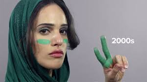 iranian women s hair styles 100 years of iran thorugh women s hairstyles lifegate