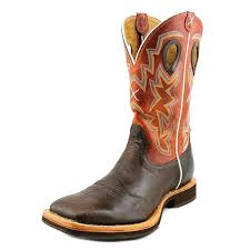 twisted x horseman 12 u0027 u0027 men square toe leather brown western boot