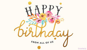 Happy Birthday Free Happy Birthday From All Of Us Ecard Email Free Personalized