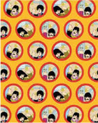 beatles portholes wrapping paper christmas bestgiftever a