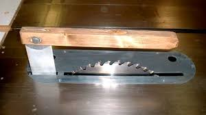 table saw guard plans how to make your own table saw splitter blade guard