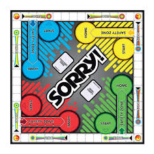hasbro sorry board game claire u0027s us