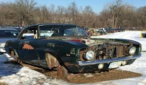 salvage yard lake auto parts stocks 50s cars