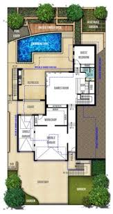 Floor Plan For 2 Storey House Two Storey Hamptons Style Home Plans Perth Plan Two Pinterest