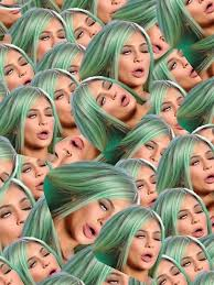 Kylie Jenner Meme - kylie jenner meme iphone cases skins by andy dong redbubble