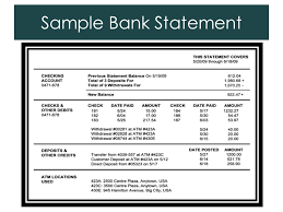 do now why does the bank issue a bank statement homework bank