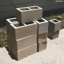 easy cinder block planter craft takeover