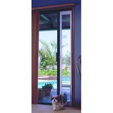 5 Patio Door Ideal Pet Products Paymb Medium Patio Door Bronze Finish 77 5 8 80